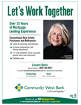 Louann Davis - Community West Bank