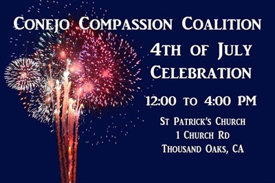 Conejo Compassion Coalition - All You Can Eat Taco Bar for 4th!