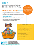 Help Conejo Compassion Coalition Stock the CLU Student Pantry!